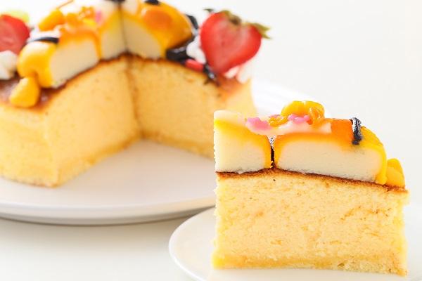 土台あり 立体キャラクターケーキ スフレチーズケーキ 5号 15cmの画像7枚目