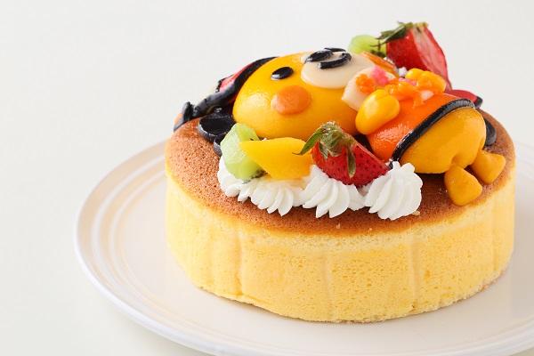 土台あり 立体キャラクターケーキ スフレチーズケーキ 5号 15cmの画像9枚目
