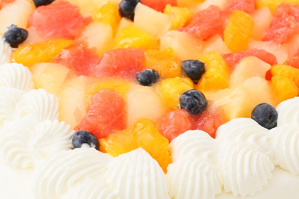 特注フルーツショートケーキ 24×24cmの画像10枚目