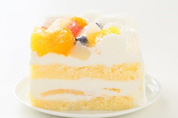 特注フルーツショートケーキ 24×24cmの画像6枚目