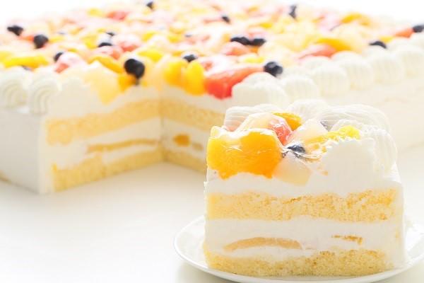 特注フルーツショートケーキ 24×24cmの画像7枚目