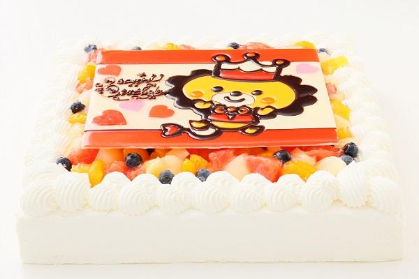イラスト大型ケーキ 24×24cmの画像2枚目