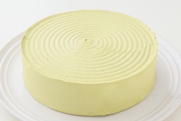 卵・乳製品・小麦粉除去 抹茶あずき ホールケーキ 5号 15cm