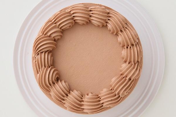 卵・乳製品・小麦粉除去 100%植物性チョコクリーム ホールケーキ 5号 15cmの画像2枚目