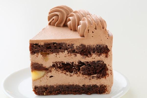 卵・乳製品・小麦粉除去 100%植物性チョコクリーム ホールケーキ 5号 15cmの画像4枚目