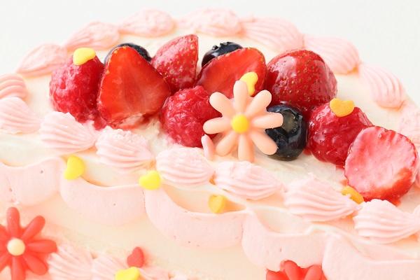 ハーフバースデーケーキ女の子 4号 12cmの画像15枚目