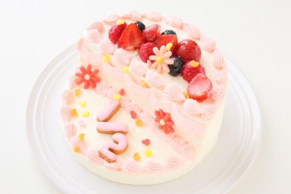 ハーフバースデーケーキ女の子 4号 12cmの画像16枚目