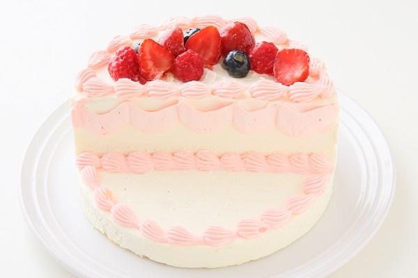 ハーフバースデーケーキ女の子 4号 12cmの画像5枚目