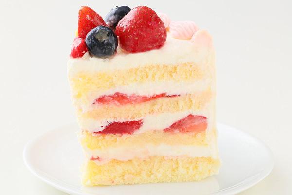 ハーフバースデーケーキ女の子 4号 12cmの画像8枚目