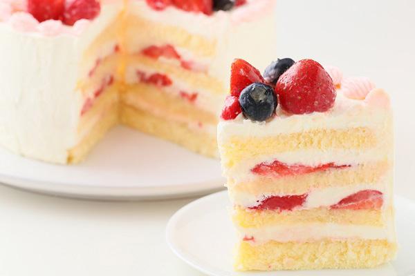 ハーフバースデーケーキ女の子 4号 12cmの画像9枚目