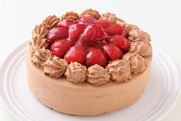 高級生チョコデコレーションケーキ 5号 15cmの画像1枚目