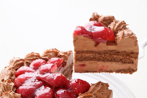 高級生チョコデコレーションケーキ 5号 15cmの画像3枚目