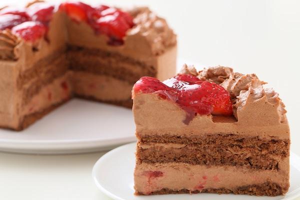 高級生チョコデコレーションケーキ 5号 15cmの画像5枚目