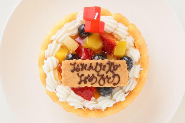 ファーストバースデーフルーツケーキ ヨーグルト 3号 9cmの画像2枚目