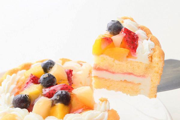 ファーストバースデーフルーツケーキ ヨーグルト 3号 9cmの画像5枚目