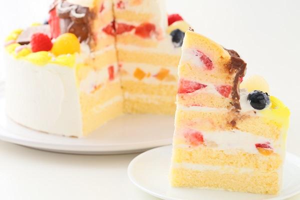 立体3Dケーキ 5号 15cmの画像5枚目