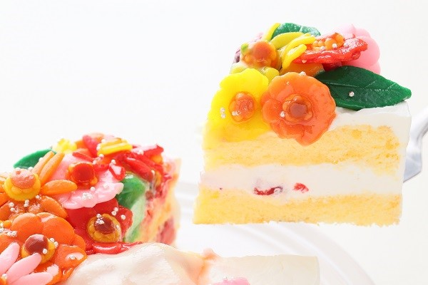 花束フルーツのデコレーション 生クリーム 4号 12cmの画像5枚目