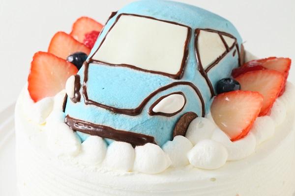 乗り物ケーキ 4号 12cmの画像11枚目