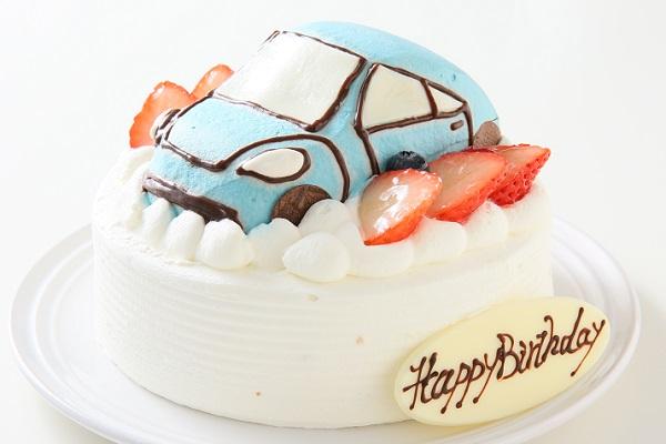 乗り物ケーキ 4号 12cmの画像4枚目