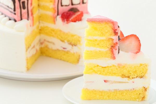 乗り物ケーキ 4号 12cmの画像8枚目