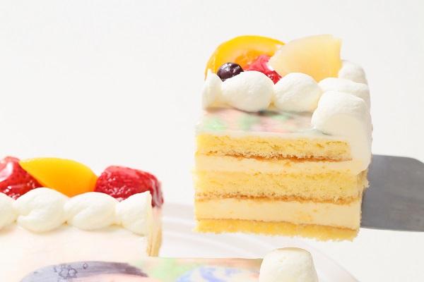 写真ケーキレアチーズ Sサイズ 15cm×15cmの画像3枚目