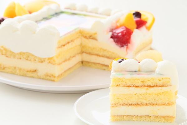 写真ケーキレアチーズ Sサイズ 15cm×15cmの画像5枚目