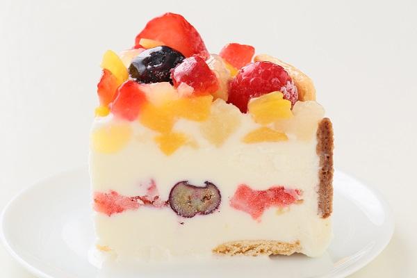 卵除去 生乳アイスクリームフルーツアイスケーキ4号 12cmの画像4枚目