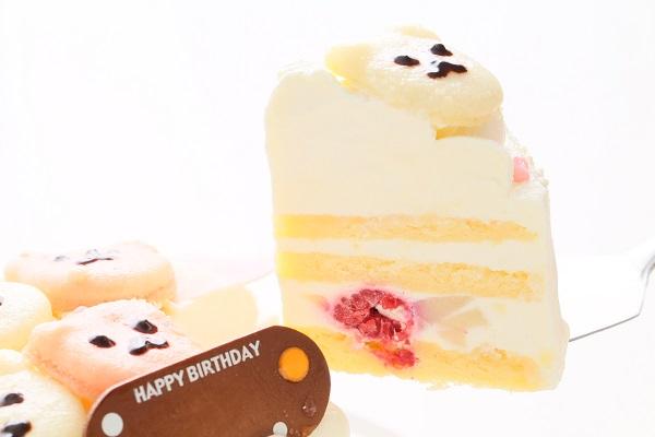 クマちゃんマカロンケーキ 4号 12cmの画像3枚目