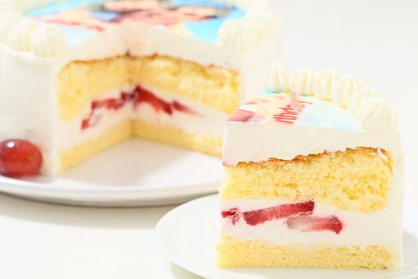 フォト 生デコレーションケーキ 4号 12cmの画像5枚目