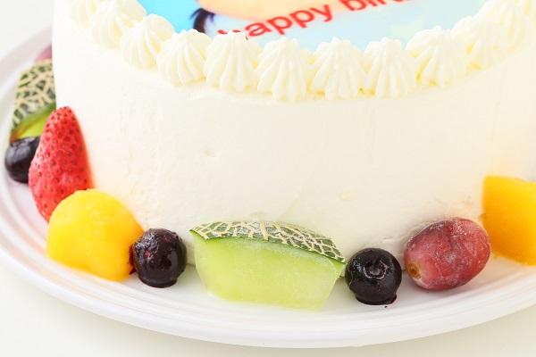 フォト 生デコレーションケーキ 4号 12cmの画像7枚目