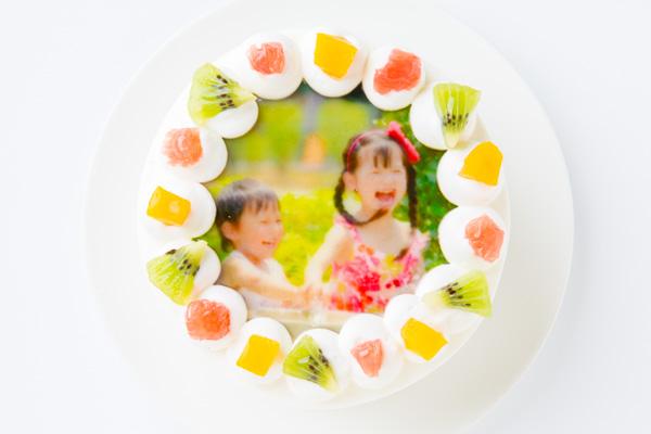 写真ケーキ 丸型 4号 12cmの画像1枚目