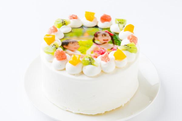 写真ケーキ 丸型 4号 12cmの画像2枚目