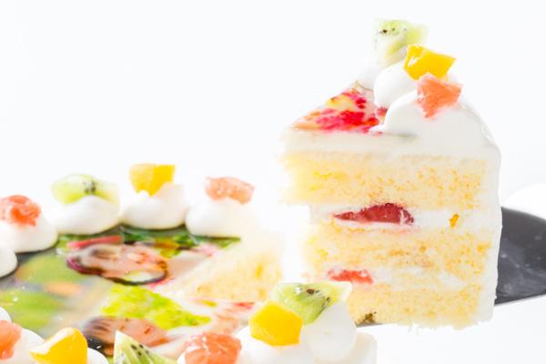 写真ケーキ 丸型 4号 12cmの画像5枚目