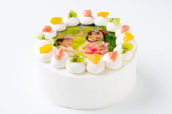 写真ケーキ 丸型 5号 15cmの画像4枚目