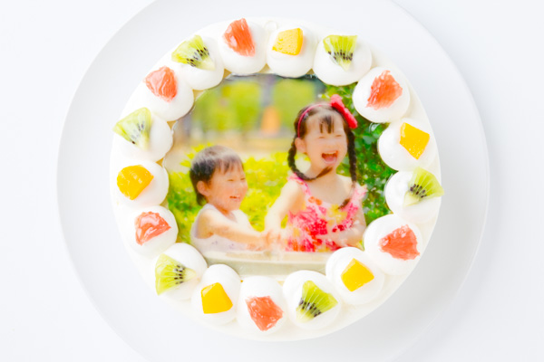 写真ケーキ 丸型 6号 18cm
