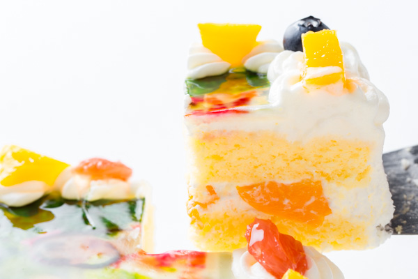 スクエア写真ケーキ 4号 12cmの画像3枚目