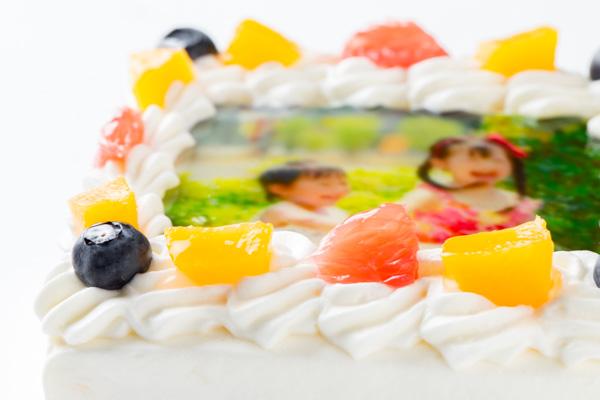 スクエア写真ケーキ 4号 12cmの画像7枚目