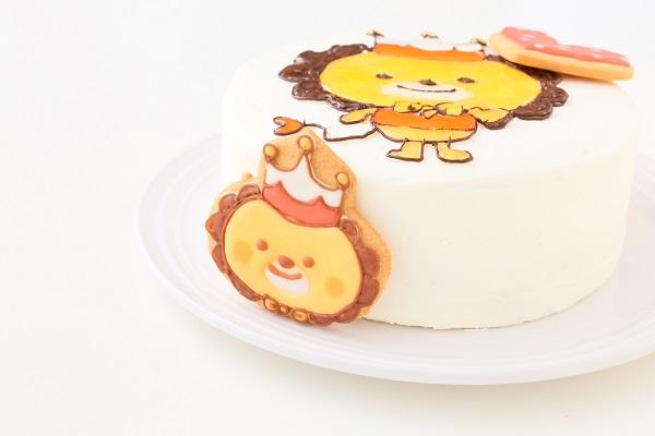アイシングクッキーのイラストデコレーションケーキ 5号 15cmの画像6枚目
