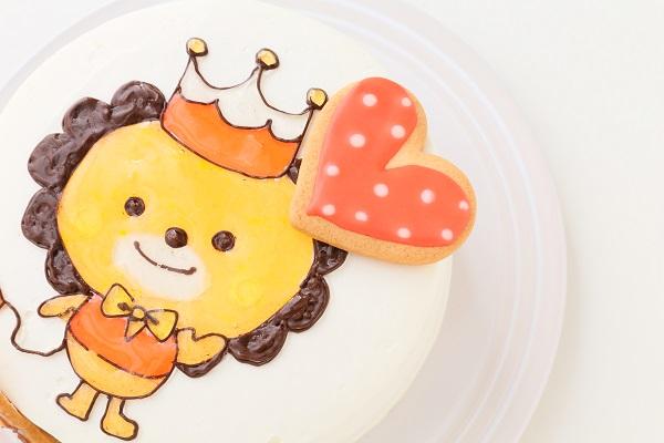 アイシングクッキーのイラストデコレーションケーキ 5号 15cmの画像7枚目