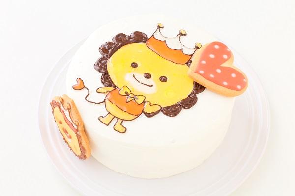 アイシングクッキーのイラストデコレーションケーキ 5号 15cmの画像8枚目