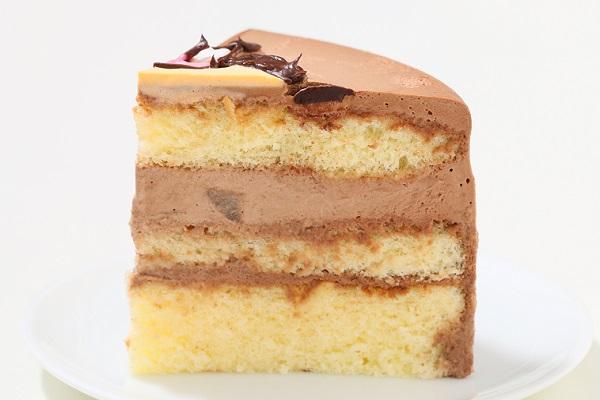 アイシングクッキーのイラストデコレーションケーキ チョコ生 5号 15cmの画像4枚目