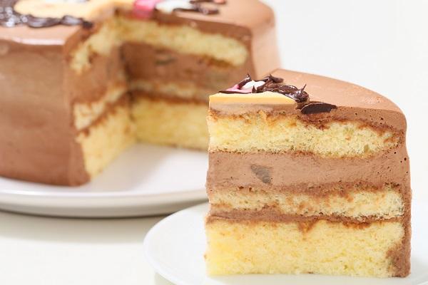 アイシングクッキーのイラストデコレーションケーキ チョコ生 5号 15cmの画像5枚目