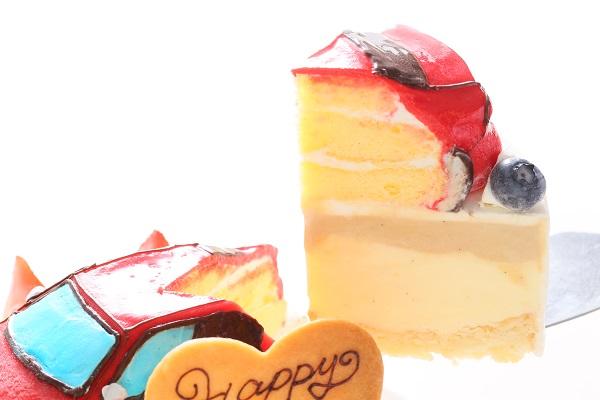 アイスの乗り物土台あり立体ケーキ 5号 15cmの画像6枚目