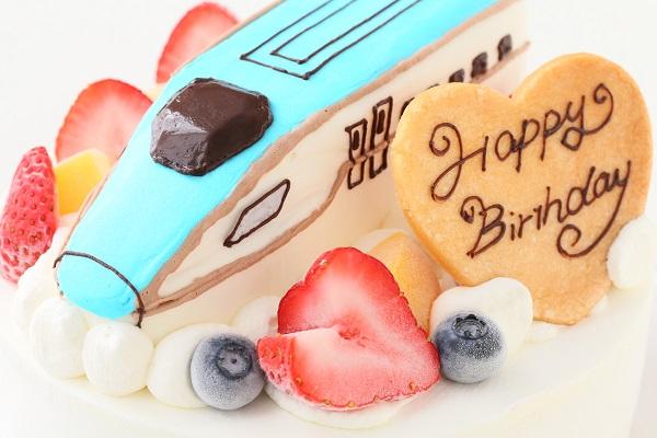 アイスの乗り物土台あり立体ケーキ 5号 15cmの画像10枚目
