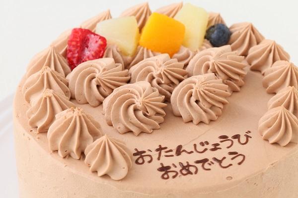 動物さんマカロンチョコクリームケーキ 4号 12cmの画像11枚目