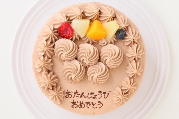動物さんマカロンチョコクリームケーキ 4号 12cmの画像4枚目