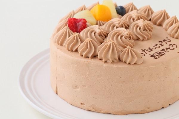 動物さんマカロンチョコクリームケーキ 4号 12cmの画像9枚目