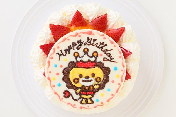 1日限定2台!キャラクタープレートケーキ 生クリーム 5号 15cmの画像1枚目