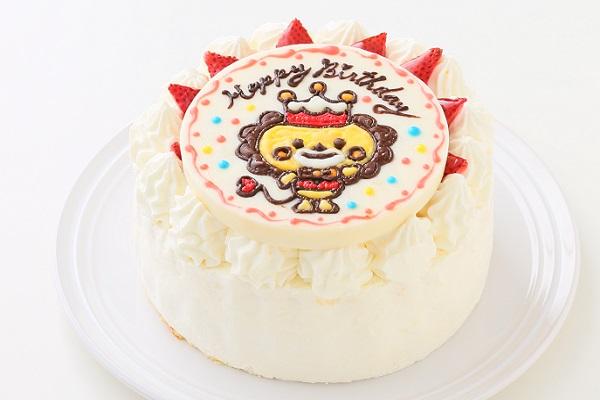 1日限定2台!キャラクタープレートケーキ 生クリーム 5号 15cmの画像2枚目