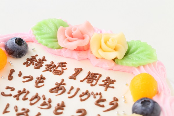 お手紙ケーキ 5号 15cm 30文字までの画像6枚目